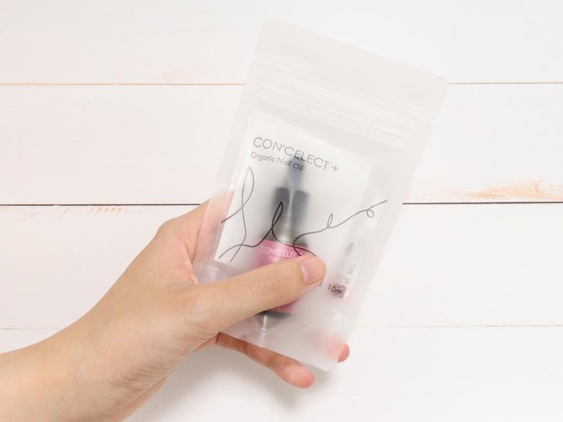 CON'CELECT+ オーガニックネイルオイル パッケージ